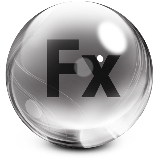 Adobe, Flex, Glass Icon