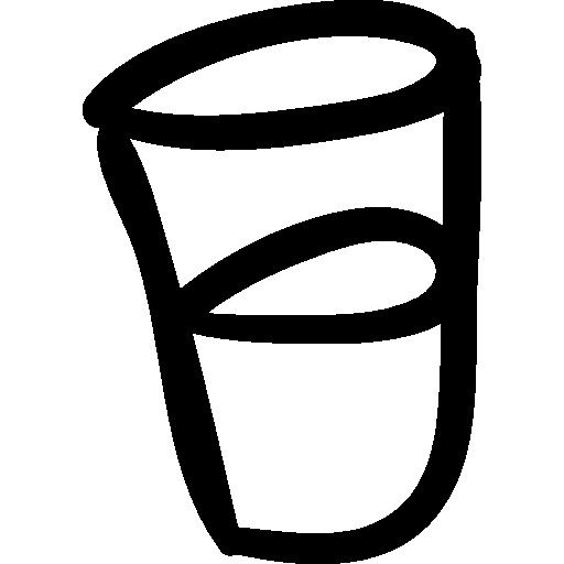 Water Glass Handmade Symbol