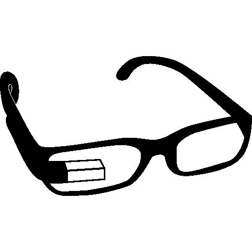 Google Glasses On Eyeglasses