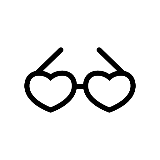 Heart Shaped Glasses Icon Download Free Icons