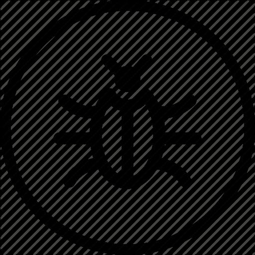 Bug, Error, Glitch, Pest, Problem Icon