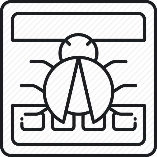 Bug, Error, Fix, Fixing, Glitch, Issue, Problem Icon