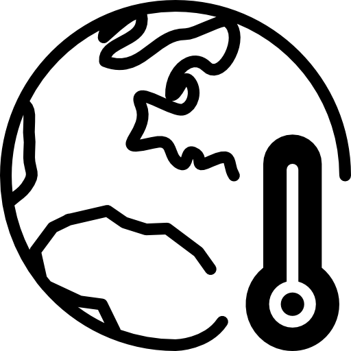 Global Warming Icon