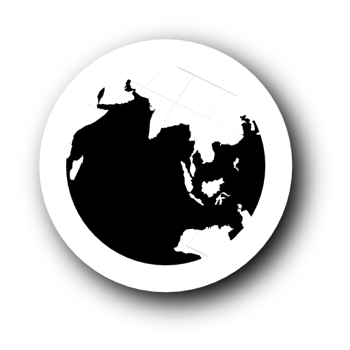 Globe Icon Black And White