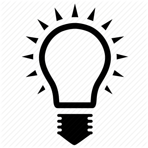 Bulb, Glow, Light Icon