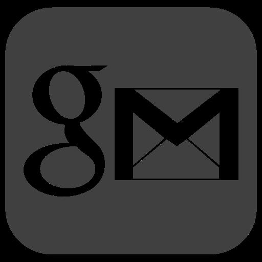 Gmail Glyph Icon Logo Image