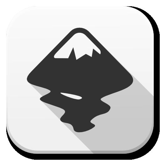 Apps Inkscape Icon Flatwoken Iconset Alecive