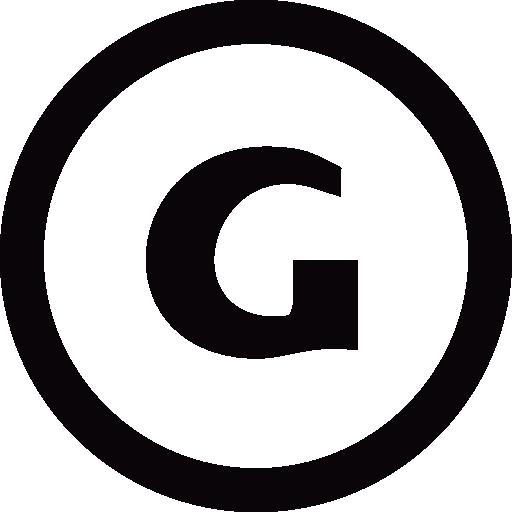 G Logo Circle Icons Free Download