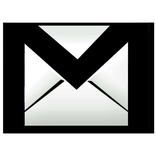 Black Gmail Icon