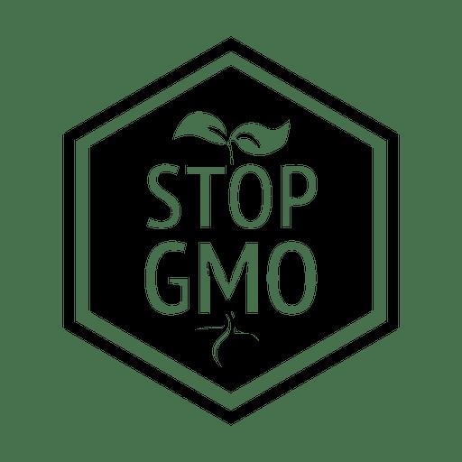 Stop Gmo Diamond Badge