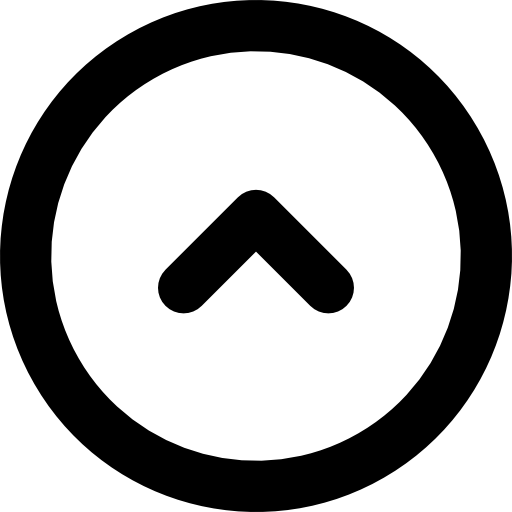 Go Up, Circle, Round, Arrows, Direction Icon
