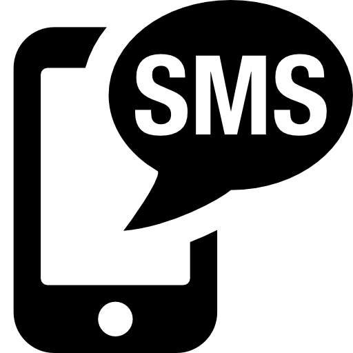 Black Sms Png Icon Images