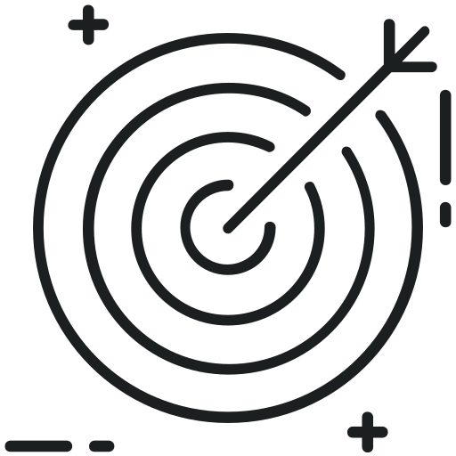 Aim, Bullseye, Dartboard, Goal, Target Icon Free Of Digital