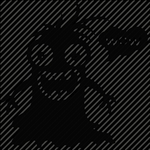 Cartoon Monster, Creature, Ghost, Goblin, Gremlin Troll Icon