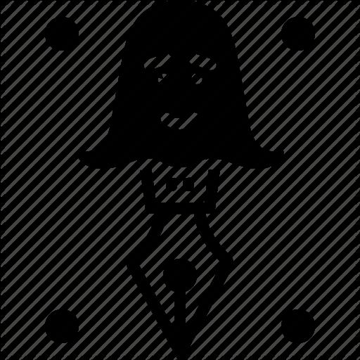 Anonymous, Creative, Ghostwriter, Spooky, Storyteller Icon