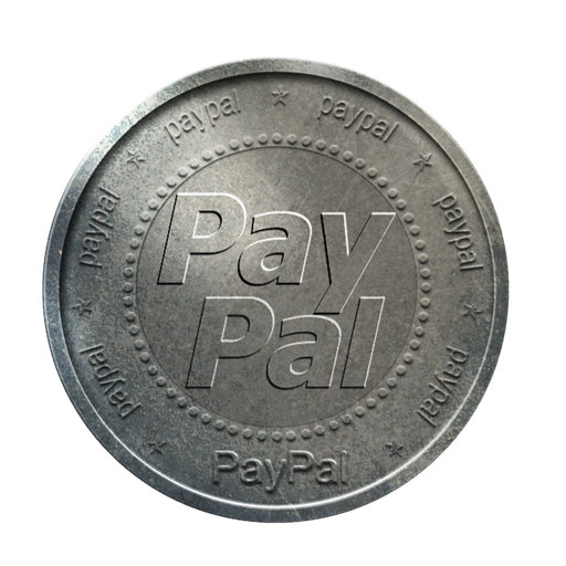 Silver, Paypal, Con