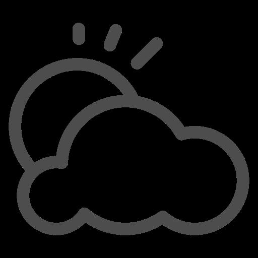 Cloud, Sky, Summer, Sun, Sunshine, Tropics, Weather Icon