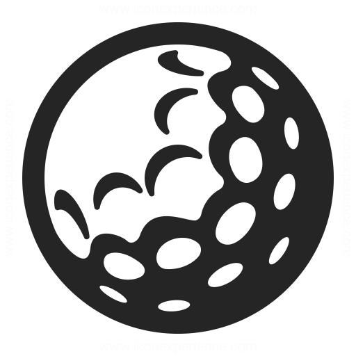 Golf Ball Icon Iconexperience