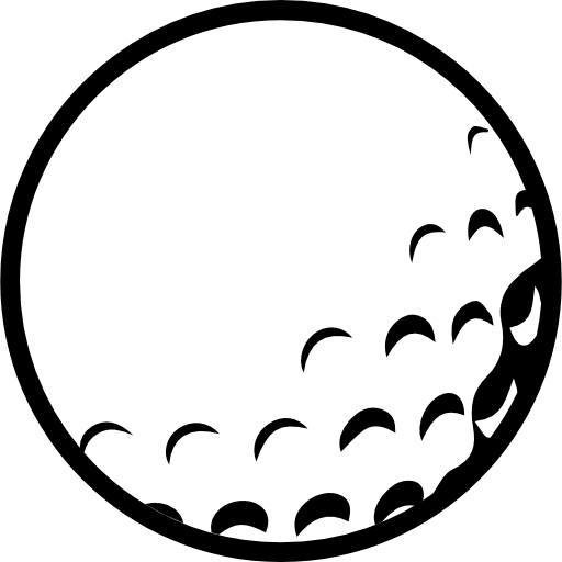 Golf Ball With Dents Icons Free Download