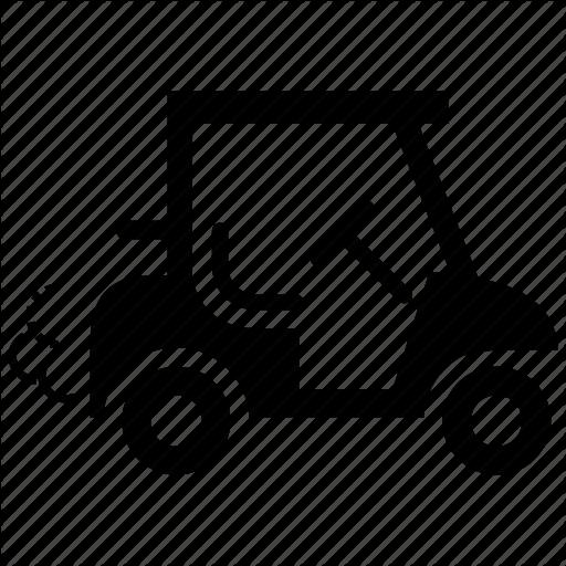 Car, Cart, Electric, Golf, Golf Car, Golf Cart, Transportation Icon