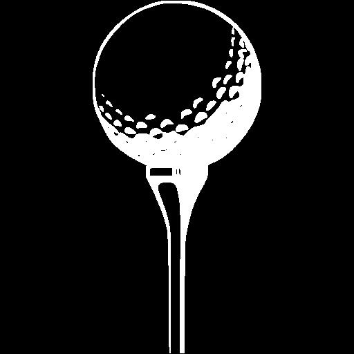 White Golf Icon