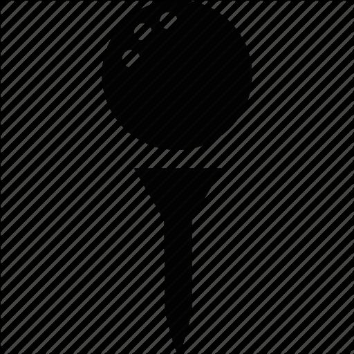 Ball, Golf, Golf Ball, Golf Tee, Golfing, Sport Icon