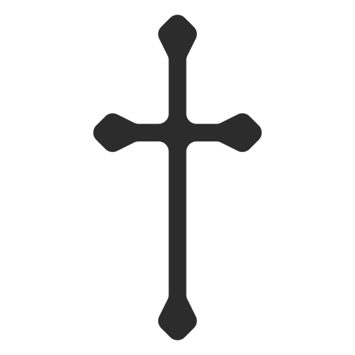 Long Christian Cross Icon