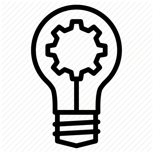 Best, Bulb, Gear, Good, Idea, Seo, Web Icon