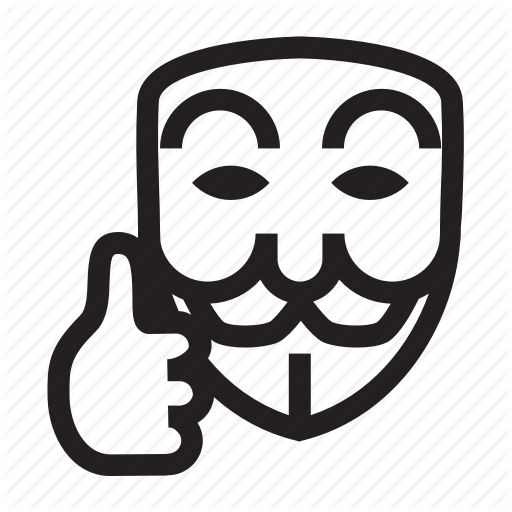 Anonymous, Emoticon, Good Job, Mask, Ok, Thumb Icon