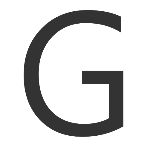 Capital Letter G Icon Download Free Icons