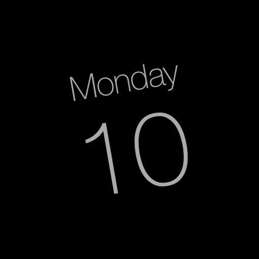 Calendar App Icon Dynamic Yosemite Iconset