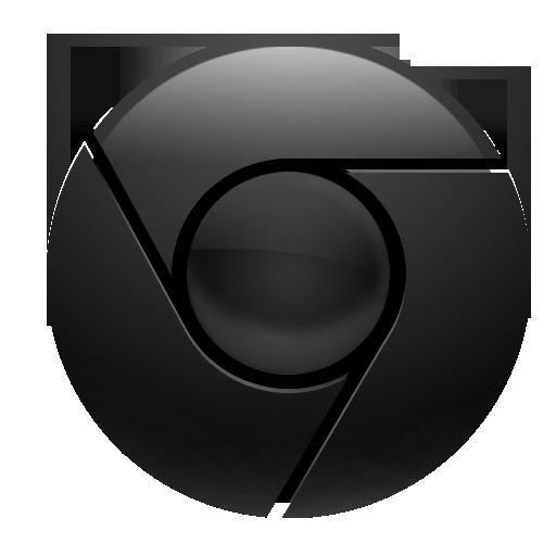 Chrome In Black Icon Ui Ux, Icon Design And Chrome