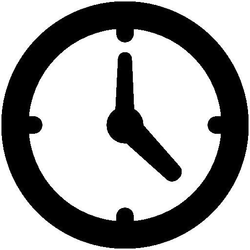 Very Basic Clock Icon Windows Iconset