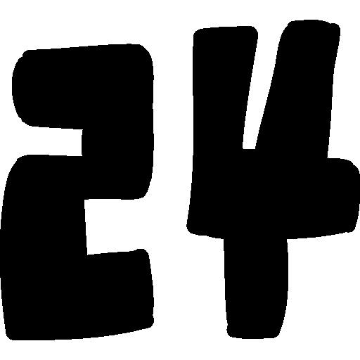 Number Handmade Symbol Icons Free Download