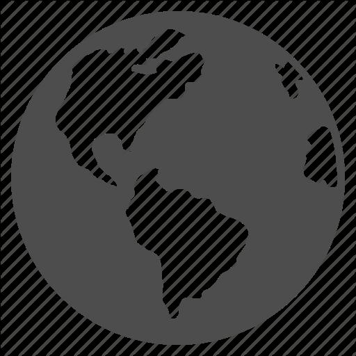 Earth Map, Global, Globe, Navigation, Planet, Travel, World Icon
