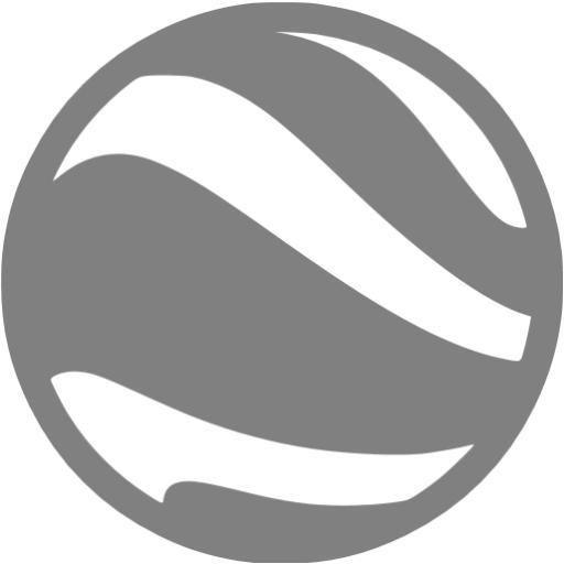 Gray Google Earth Icon