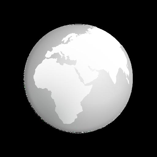 Grey Earth Icon