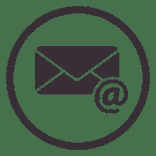 Email Circle Icon Design