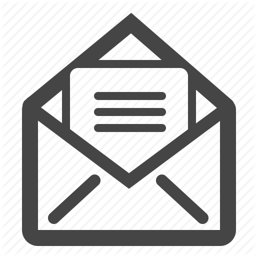Contact Us, Email, Letter, Subscribe Icon