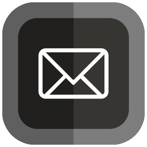 Email Icon Folded Social Media Iconset Uiconstock
