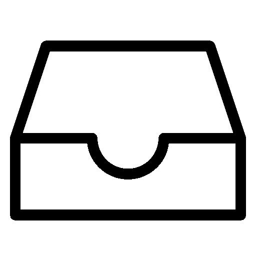 Inbox, Vector Icon