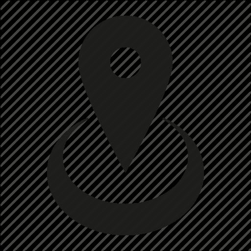 Circle, Location Icon