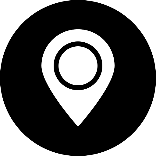 Location, Address, Map, Circle, Marker, Navigation, Gps Icon