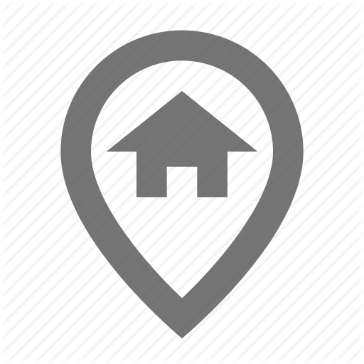 Home, House, Location, Map, Marker, Navigation, Pin, Pointer Icon