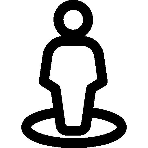 Stick Man Icon