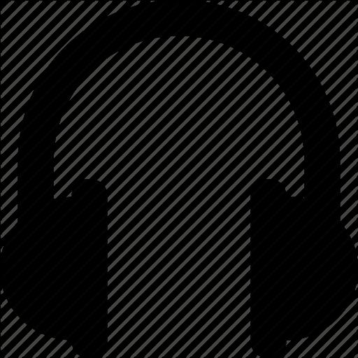 Earphone, Headphone, Headset, Multimedia, Music Icon