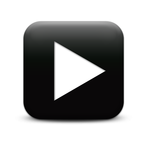 Black Video Play Icon