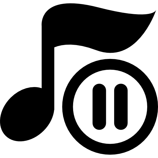 Music Player Pause Button