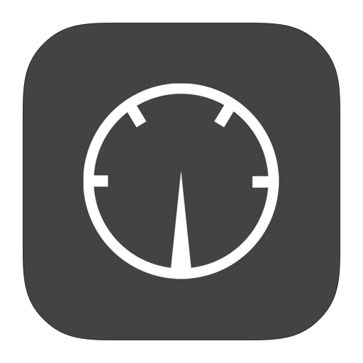 Dashboard, Mac, Metroui Icon