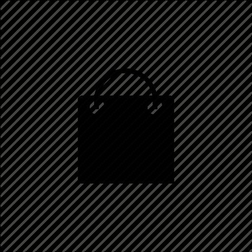 Google Play White Shopping Bag Icon